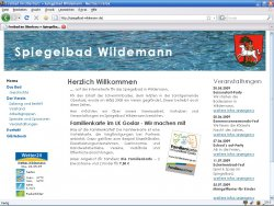 Screenshot: Projekt Spiegelbad Wildemann